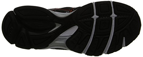 ASICS Mens GEL-Exalt 2 Running Shoe Black/Onyx/Orange MY9dknO