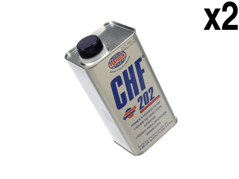 (Saab (97-09) Hydraulic System Fluid (2x1 Liter) OEM Pentosin CHF-202)