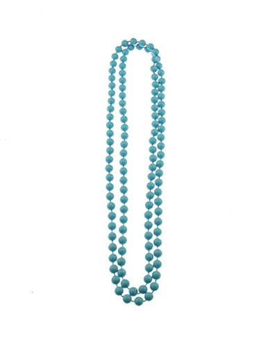 Zac's Alter Ego Plastic Colour Bead Necklace For Fancy Dress - 80S/Pop/Clubbers