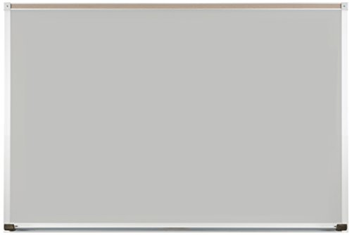 Best-Rite Evolution Projection Dry Erase Surface, Matte Gray, Deluxe Aluminum Trim, 2 x 3 Feet (404AB-52) 52 Projector