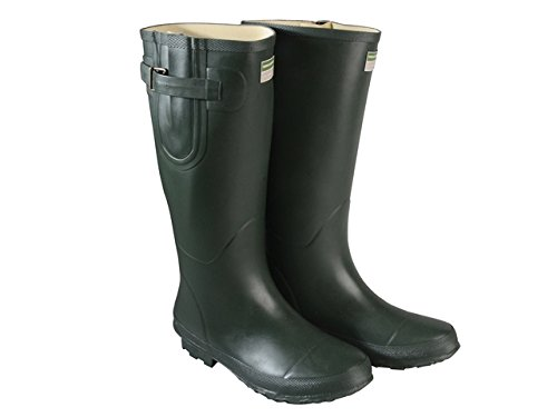 (Town & Country Bosworth Wellington Boot (Green, 9) )