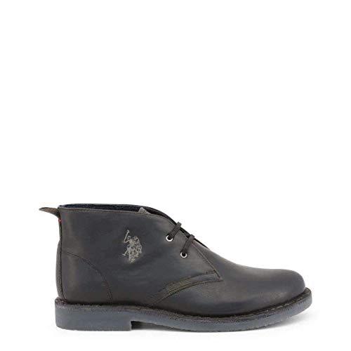 U Uomo s Leather Blk Collo Amadeus17 black A polo Assn Sneaker Alto Nero 1zHrw1qx