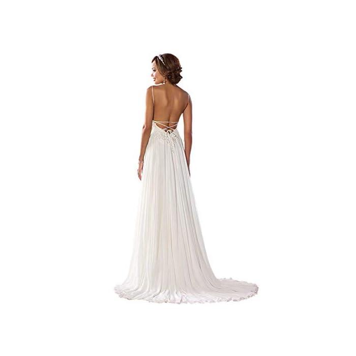 Wedding Dress For Bride 2020 Beach Vintage A Line Backless Boho Lace Summer Wedding Dresses Women Plus Size Wedding,Beach Wedding Guest Dresses 2020