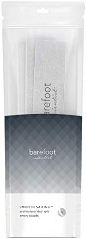 Barefoot Scientist Smooth Sailing Professional Dual-Grit Emery Boards, Premium Nail Shaping Tool