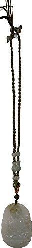 Quan Yin Jade Cord Necklace