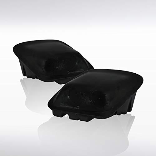 Autozensation For Chevy Corvette C5 Smoke Lens Dual Projector Headlights Front Lamps Pair Chevy Corvette Projector Headlights