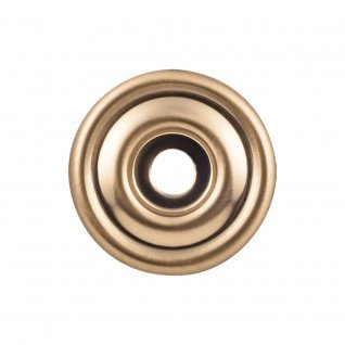 Company Backplate - Top Knobs Brixton Backplate 1 3/8 Inch Honey Bronze