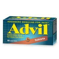 Advil Ibuprofen, 200 mg, Coated Tablets 100 coated tablets by Pfizer