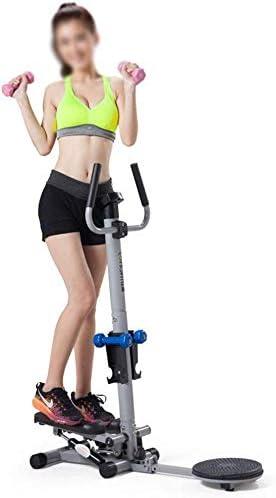 Bicicleta de Spinning máquina de Pasos Goodvk-Deportiva con Cintas de Entrenamiento 2 en 1 función Muliti Mini de Pasos Home Trainer ejercitador con Pantalla LCD y manija Dispositivo de Entrenamiento: Amazon.es: Hogar