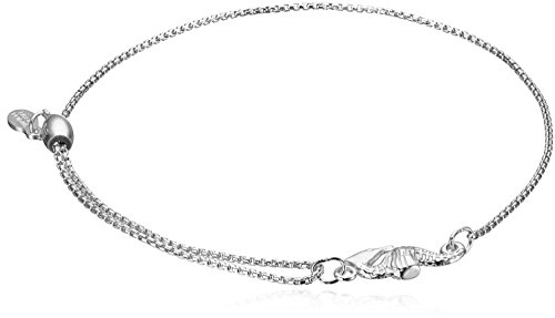 (Alex and Ani Pull Chain Bracelet Seahorse Sterling Silver Bracelet)