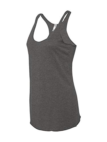 Next Level Apparel Women's Premium Tri-Blend Racerback Tank, Premium Heather, Small