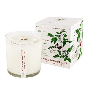 Candle Scents Garden Soy (Wild Tomato Vine Soy Candle with Plantable Box)