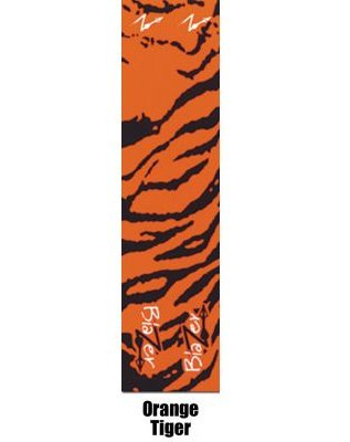 12 - Pk. Bohning 4 inch Camo Blazer Wraps, ORANGE TIGER
