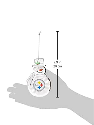 NFL Traditional Snowman Ornament