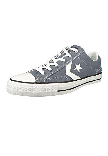 Converseren Unisex-volwassenen Sterspeler Ox Lichte Carbon / Wit / Zwart Sneaker Grijs (licht Carbon / Wit / Zwart 534)