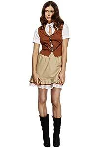 Smiffys - Fiebre disfraz de Sheriff para mujeres (43483M): Amazon ...