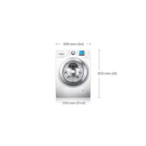 Samsung WF1124XAC - Lavadora (Independiente, Color blanco, Frente ...