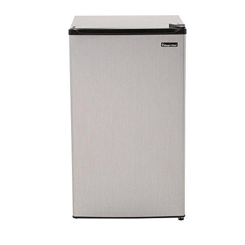 3.5 Cu. Ft. Mini Refrigerator in Stainless Look, Energystar