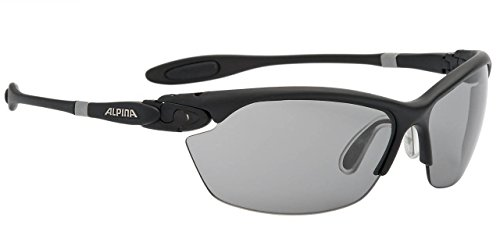 ALPINA A8484 1 31 Lunettes de soleil Twist Three 2.0 Vl black matt