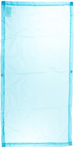 Amazon com abilitations cozy shades softening light filters 54 x 24 inches pack of 4 sky blue industrial scientific