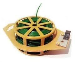 Sturdy Twist - Plant Twist Tie 246 Ft W/cutter, Sturdy Green Coated Wire (Pack of 3)