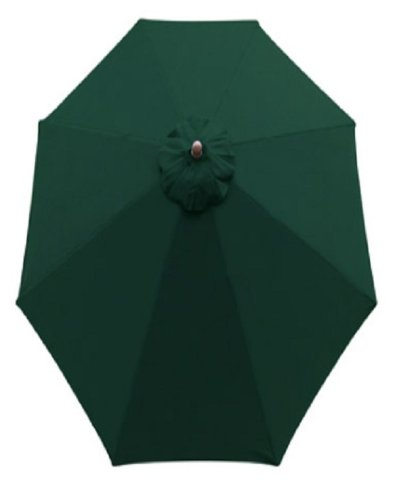 Sunline Umbrella Market Hardwood Green