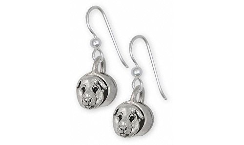 Guinea Pig Jewelry Sterling Silver Guinea Pig Earrings Handmade Piggie Jewelry GP12-E