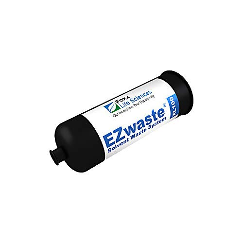 Pack of 6 Black Thomas 330-0933-TMS EZwaste 1//4-28 Plug Fitting for Solvent Waste System Delrin