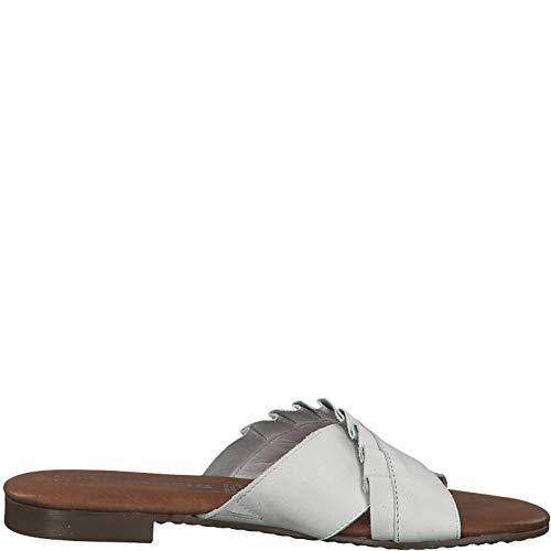 On Mulas Tamaris pantuflas Offwhite 1 Mujer zapatillas mulas chinelas 1 22 27118 slip xnAHpwqRPn