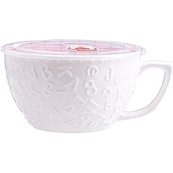 Amazon.com | Larger 35.3 OZ Microwavable Ceramic Noodle