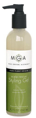 Max Green Alchemy Scalp Rescue Styling Gel Regular Size (8.2 fl oz)