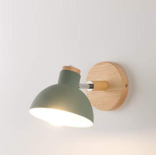Moderne minimalistische macaron Hintergrundwand der nordischen Schlafzimmerwandlampe kreative kreative Gang-Nachttischlampen des Wohnzimmers kreative