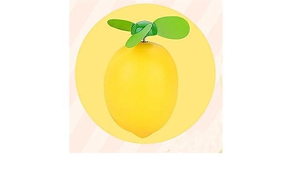 Ligero Limón USB Lindo Ventilador de Carga de Dibujos Animados ...