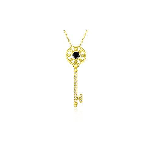 Cts Diamond Key Pendant - 2