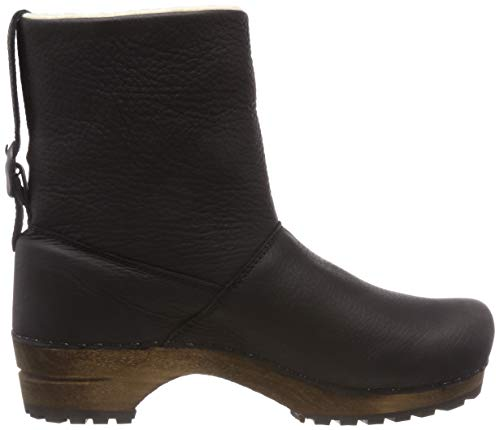Black Sanita Low black Women's Boot 2 Wood Silkan Slouch f44xYqPwr