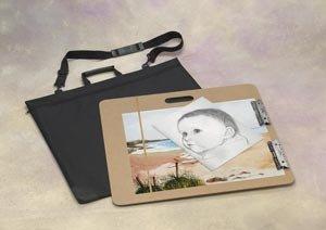 Alvin Sketch Board Value Pack includes Masonite 23-1/2 x 26 inch Sketch Board with Nylon Portfolio