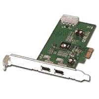 SIIG I/O Controller NN-E20012-S2 2-Port FireWire(1394a) PCI-Ex1 Card 400Mbps RoHS Electronics