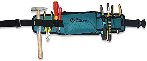 Electrician Hardware Tools Bag Pocket Belt Waist Pouch Tools Storage Holder Toolkit
