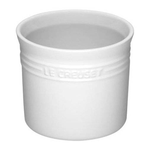 Le Creuset Stoneware Small 28-Ounce Utensil Crock, White ()