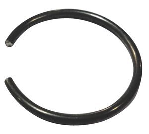 M55 Hardened Spring Steel DIN 7993B Internal Snap Ring, Pack of 10 by Fastenal Approved Vendor