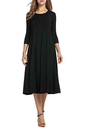 Pleated Bow Front Dress - 5