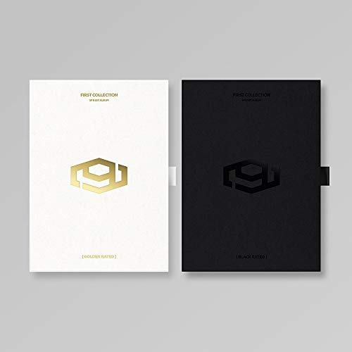 FNC Entertainment SF9 - First Collection Outcase + CD + Booklet 120p + Postcard Set 9 pcs + Mini Photostand 1 of 9 + Selfie Photo Card 1 of 18 Kpop (Black Rated)