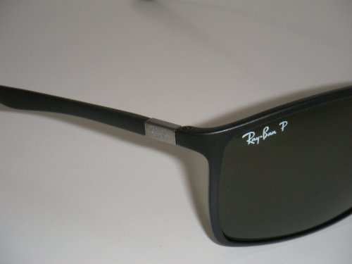 1b61e1173b RAY BAN TECH LITEFORCE RB 4179 601-S 9A 62mm MATTE BLACK WITH GREEN