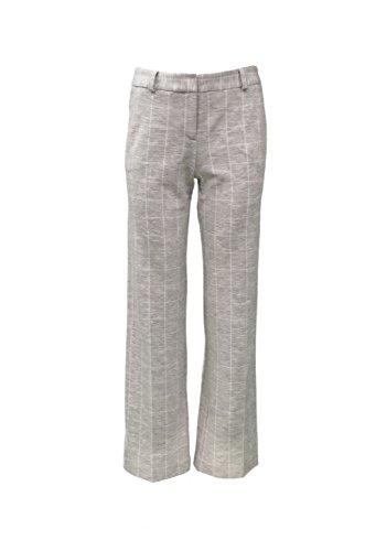 DREW Womens MIA Window Glass Knit Pant Trouser Sz 6 Heather Grey 270621F