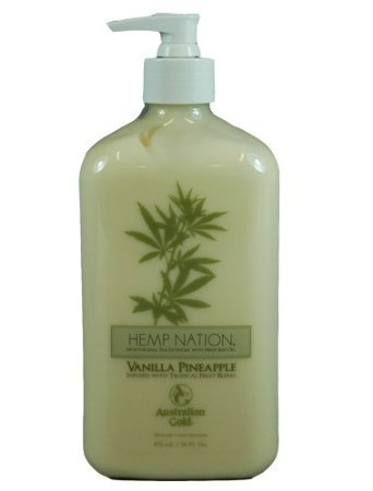 Hemp Nation VANILLA PINEAPPLE Moisturizing Tan Extender, 18 Fluid Ounce by Australian Gold