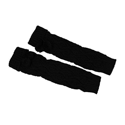Amazon.com: Christmas Clearance! AOJIAN Women Winter Warm Knitted Socks Leg Warmers Boot Crochet Long Socks (Black): AOJIAN
