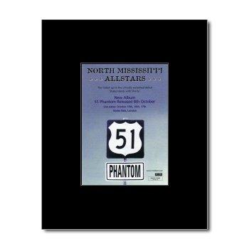 Music Ad World North Mississippi Allstars - 51 Phantom Mini Poster - 13.5x10cm