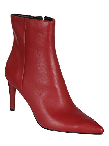 Donna Kylie Pelle Kkzoe07red Rosso Kendall Stivaletti xTqwO76