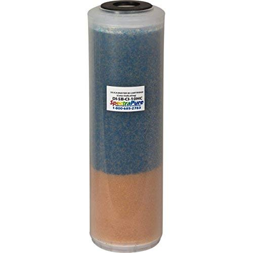 SpectraPure SilicaBuster Color-Indicating DI -