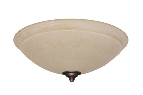 Emerson Ceiling Fans LK90ORB Ashton Amber Mist Light Fixture for Ceiling Fans, Candelabra